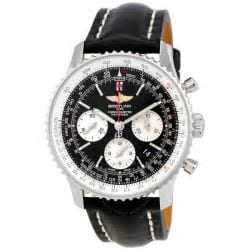 Black Breitling Watch