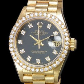 Womens Gold Rolex Watch