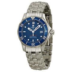 Blue and Silver TAG Heuer Watch
